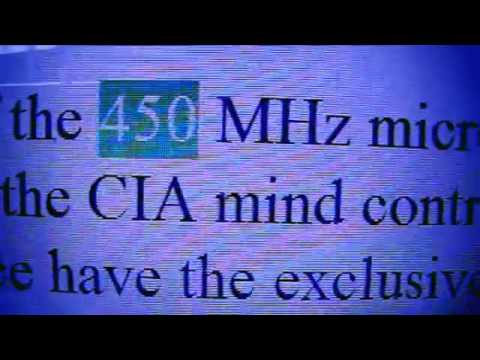 HAARP MIND CONTROL FREQ 450 MHZ USED ON AMERICANS BY OUR AIRFORCE