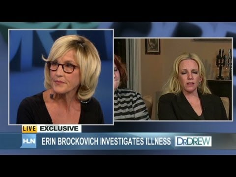 Erin Brockovich talks mystery illness