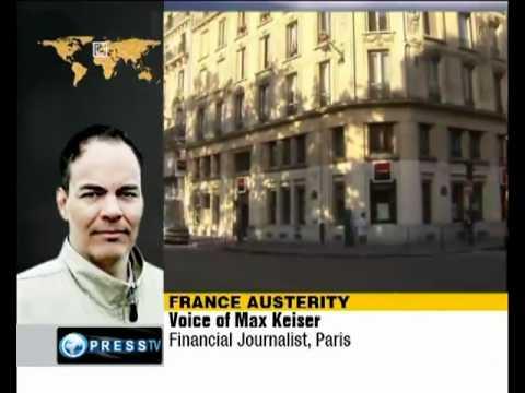 Max Keiser: 'France will experience public rage' [Paris, PressTV]