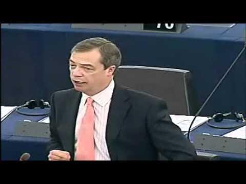 Nigel Farage- Unelected Puppet Papademos
