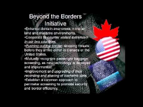 Media Blackout...Canada and U.S. borders to be removed under new agreements.
