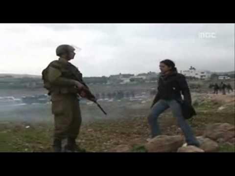 Palestinian Girl vs Israeli Soldier