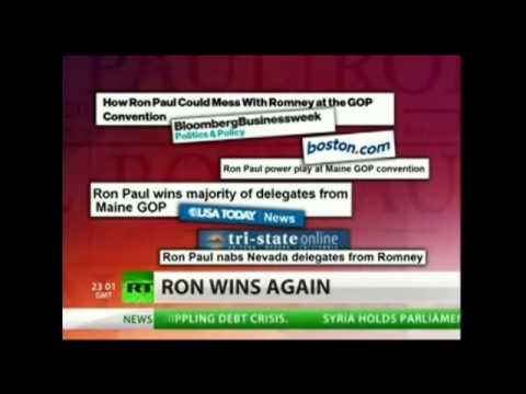 Ron Paul Has WON IN ELEVEN STATES Now!