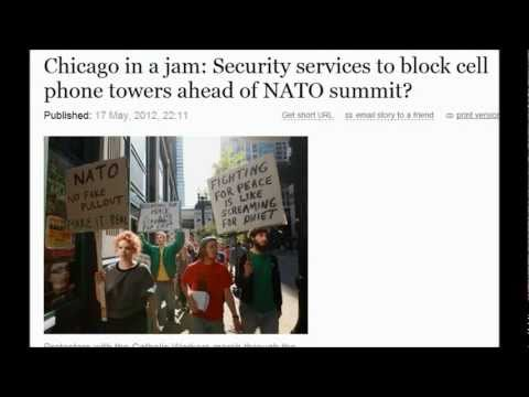 Chicago : Security services to block cell phone towers ahead of NATO summit