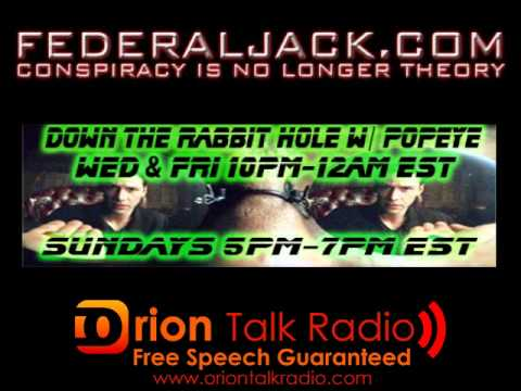 Down The Rabbit Hole w/ Popeye (06-08-2012) U.S.S. Liberty Survivor Richard Larry Weaver