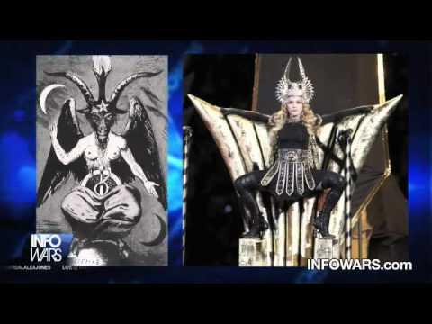 Madonna Illuminati Superbowl Ritual