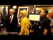 Newt Gingrich Autographs Bohemian Grove Picture