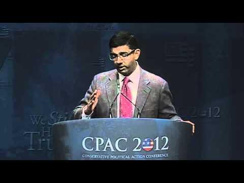 Dinesh D'Souza CPAC Speech