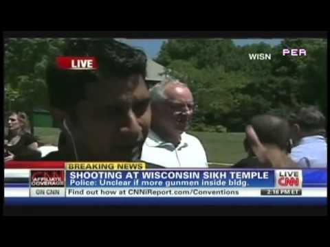 """""""Multiple shooters, Very well coordinated, Wasn't haphazard, Releasing of Gas"""" - Sikh Temple Shooting witness"""