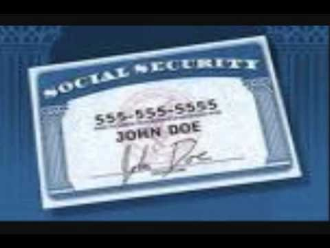 The Correct Way To Use a Social Security Card Part II (Final)