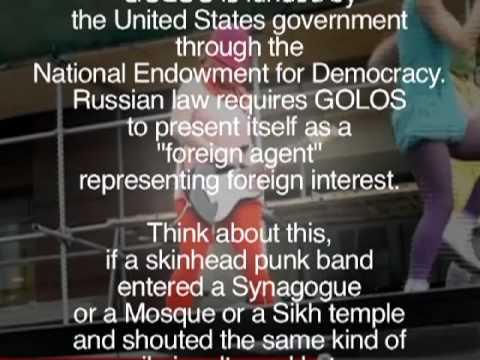 Pussy Riot: CIA PSYOP