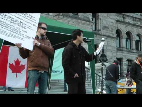 October 15th - Occupy Victoria - BC Legislature - Vinnie