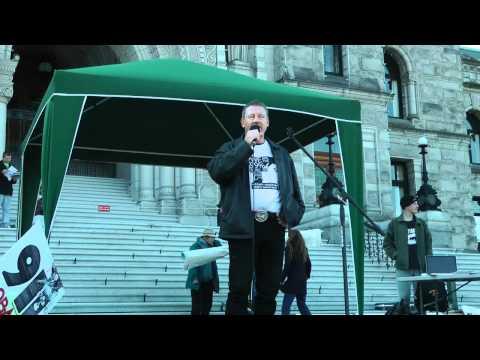 October 15th - Occupy Victoria - BC Legislature - Dallas