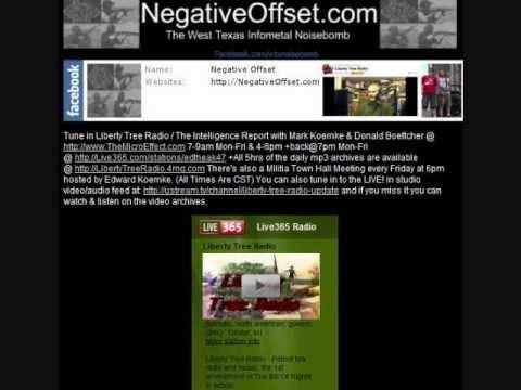 Liberty Tree Radio Plays Negative Offset (09/21/2012)