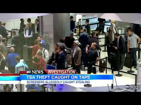TSA Agent Found With ABC IPad: Brian Ross Blotter Investigation