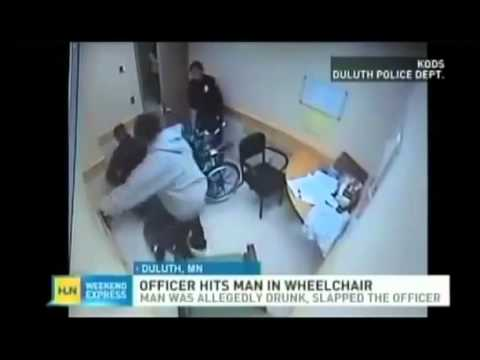 Cop Punches, Beats Down Man In Wheelchair