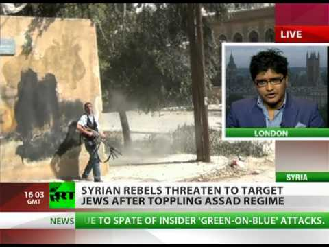 'Syrian rebels have to fight with Jews ahead of them'