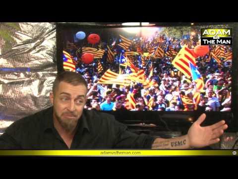 Anarchy in el Catalonia: 1 million protest Spanish Gov.