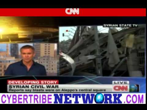 TURKEY SHELLS MAIN FINANCIAL DISTRICT IN SYRIA! ALL HELL BREAKING LOOSE!