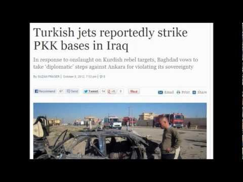 Turkish jets violates Iraq airspace by striking PKK bases in Iraq (October 8, 2012)
