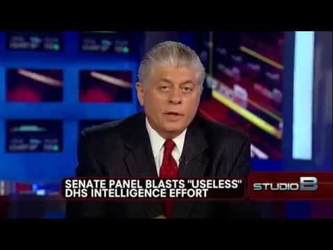 Judge Napolitano: Senate Report Finds DHS Fusion Centers Running Wild, Police State is Here!