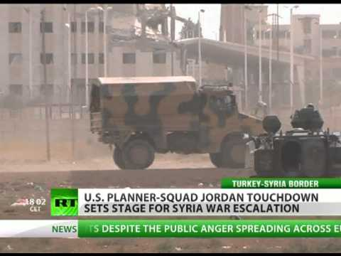 Pentagon deploys military forces to Jordan-Syria border
