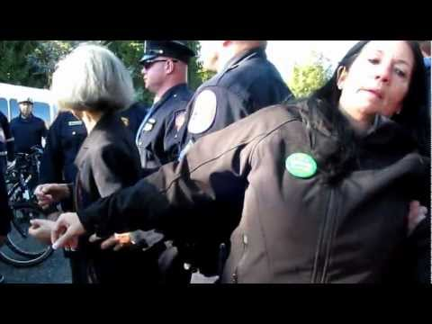 Green Party presidential candidate Jill Stein was arrested outside after attempted to enter debate grounds