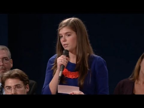 Debate Gender Gap Girl Slut-Shamed by Right Wing