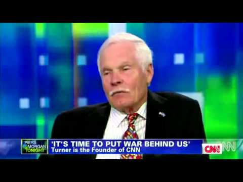 "Ted Turner: I Think It's ""Good"" U.S. Troops are Killing Themselves"