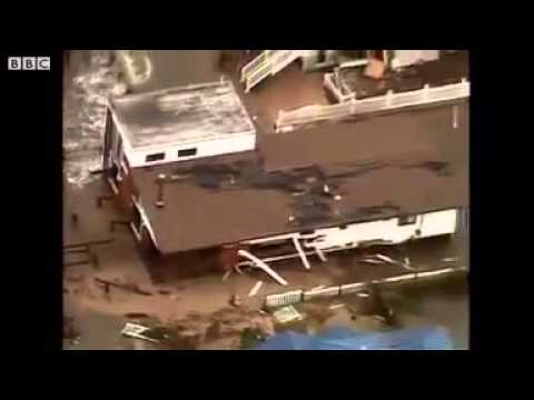 Aerial footage shows New Jersey destruction