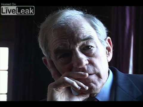 Ron Paul absolutely denies 9/11 being an Insidejob - (The Symphatic Liar)