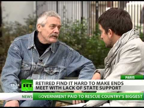 Old & Helpless: Euro crisis to take food out of mouths of pensioners?
