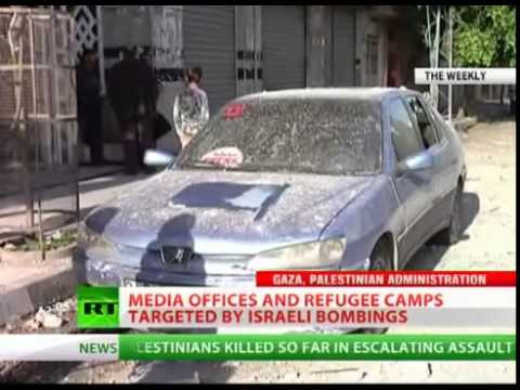 RT office in Gaza destroyed by Israeli airstrike