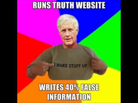 Gordon Duff - Runs Truth Website, Writes 40% False Information