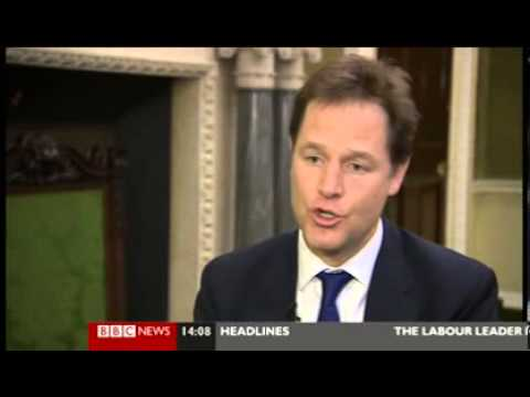 Clegg Wants U.K Drugs Decriminalization- Cameron Disagrees