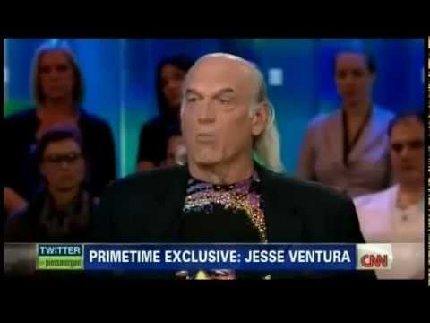 Jesse Ventura Debates Piers Morgan on Gun Control