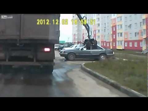 The struggle against illegal parking? *volume warning