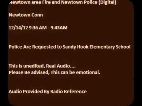 Dispatch Audio of Sandy Hook Newtown Connecticut Elementary Proves multiple shooters