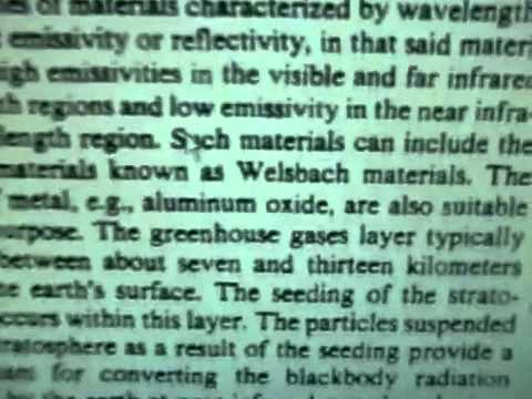 CHEMTRAIL BOMBSHELL!!!! US Patent 5,003,186 Aluminium Oxide in Jet Fuel