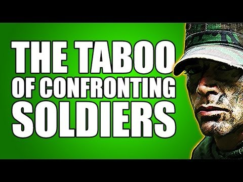 The Taboo of Confronting Soldiers