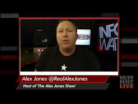 Alex Jones Melts Down On HuffPost Live 'YOU'RE IN DANGER! YOU'RE IN DANGER!