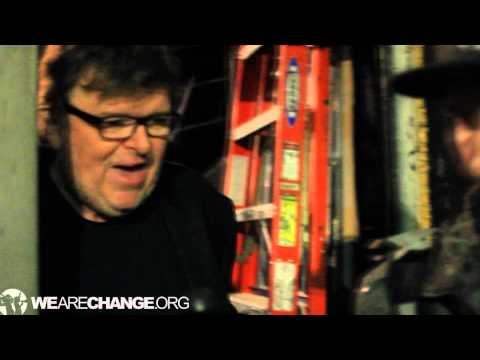 Michael Moore Addresses Bodyguard with Illegal Gun