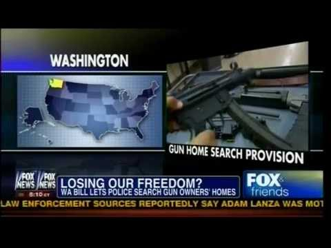 Losing Our Freedom? Washington Bill Lets Police Search Gun Owners' Home