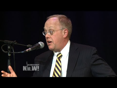 """Chris Hedges on the NDAA, the Assassination of U.S. Citizens & """"Corporate Totalitarianism"""""""