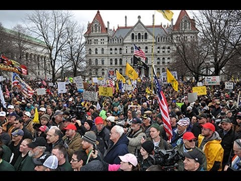 Second Amendment Gun Rights Rally, Albany, NYS Capitol, Feb. 28, 2013