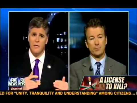 Rand Paul EXPOSES: Obama Can Kill Americans w/ Drones