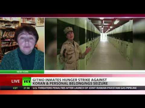 "Over 100 Guantanamo Prisoners on Hunger Strike, Citing Threat of Return to ""Darkest Days Under Bush"