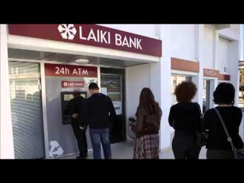 Cyprus Lining Up At ATM To Withdraw Cash Before Stunning Tax On Deposit
