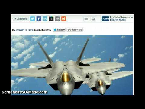 U.S. Flexes Military Muscle on North Korea by Sendind F-22 Stealth Fighter Jets !