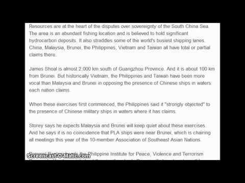 Chinese Naval Fleet Heads Deep into Disputed Waters. 3/30/2013